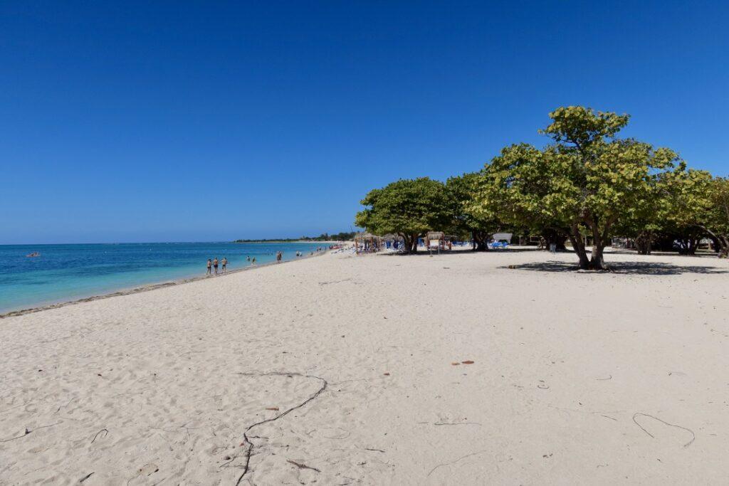 Playa Ancon den vakrest stranden i Cuba